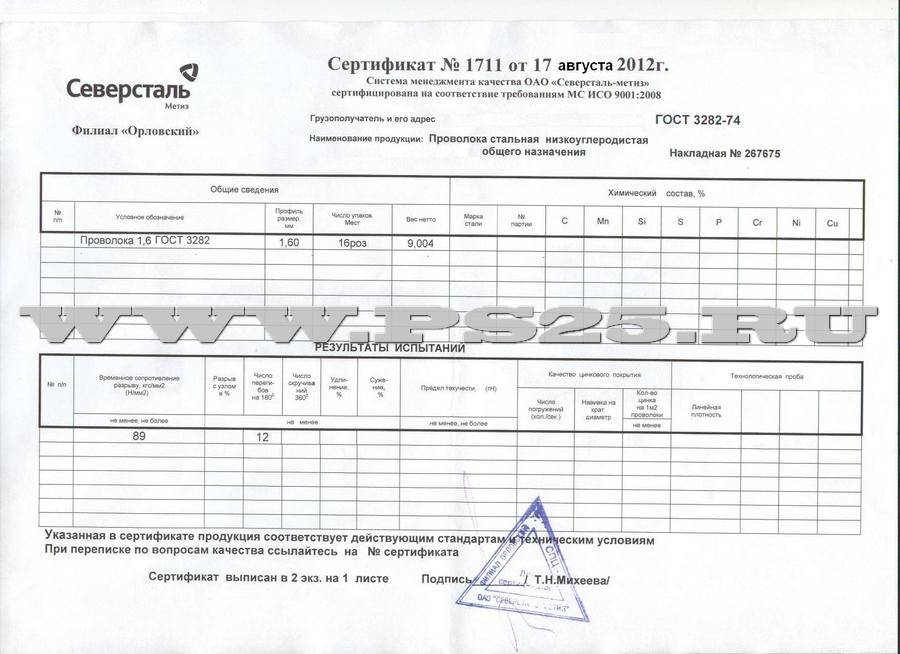 Проволока гост 3282 74 сертификат сертификация на китайский чай